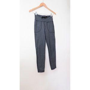 Lululemon skinny will pants grey crop 4